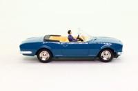 Dan-Toys DAN-249; Peugeot 504 Cabriolet; Bleu