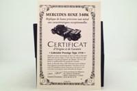 Collections de France HVMC003; 1936 Mercedes-Benz 540K; Red & Black