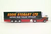 Corgi 59504; Volvo FH; Artic Curtainside, Chrome Wheels; Eddie Stobart