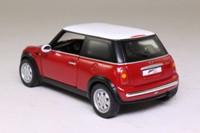 Corgi CC86501; 2001 BMW Mini-Cooper; Red, White Roof