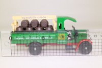 Corgi C867; 1930 Thornycroft Lorry; Beer Truck, Thomas Wethered, Barrel Load