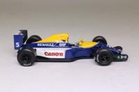 Atlas Editions 3128 001; Williams FW14B; 1992 British GP 1st; Nigel Mansell; RN5