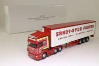 Corgi CC18107; Scania R Cab Artic; Curtainside; Sandy Kydd; Forfar
