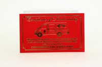 Days Gone Lledo; Ford Transit; Jersey Post