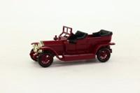 Days Gone Lledo DG032004; 1907 Rolls-Royce Silver Ghost; Maroon