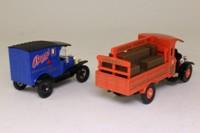 Corgi 97751; Bass Brewery 2 Truck Set; Ford Model T Van & Thornycroft Brewers Dray