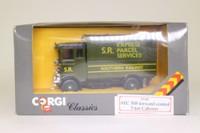 Corgi 97140; AEC 508 Cabover Van; Southern Railway Express Parcels Service