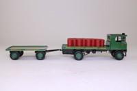 Corgi 80008; Sentinel Steam Wagon; Flatbed & Trailer, Morris's Shrewsbury, Oil Drum Load