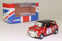 Corgi CC82225; BL/Rover Mini; 2003 Acropolis Rally, Robert Stacey & Nicky West