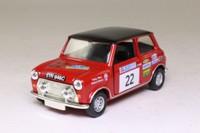 Corgi CC82225; BL/Rover Mini; 2003 Acropolis Rally, Robert Stacey & Nicky West