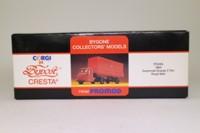 Corgi 97912; Scammell Scarab; Artic Tilt Trailer, Royal Mail; Red (Promod, Bypost Cresta)