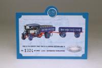 Corgi Classics CC20202; 1925 Foden C Type Steam Lorry; Dropside & Trailer, Openshaw Brewery, Barrels Load