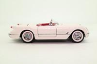 Franklin Mint B11KC31; 1953 Chevrolet Corvette C1; White