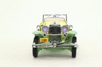 Franklin Mint B11KD09; 1930 Duesenberg Model J Derham Tourster; Yellow & Pale Green