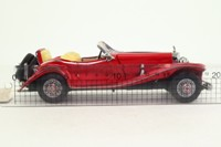 Franklin Mint; 1935 Mercedes-Benz 500K Special Roadster; Open Top, Red