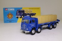 Corgi Classics 12301; Foden FG; 8 Wheel Rigid Flatbed, Crates Load: Motor Packing Co Ltd