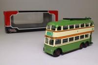 Corgi OOC OM43706; Weymann /BUT Trolleybus; Glasgow Corporation; 101 Rutherglen via Cathedral St, Crown St, Rutherglen Rd