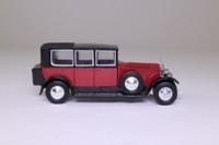 Models of Yesteryear Y-36/1; 1925 Rolls-Royce Phantom 1; Dark Red & Black