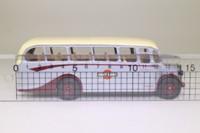 Corgi Classics C949/4; Bedford OB Duple Vista Coach; Grey Cars; Torquay; Grey/Maroon