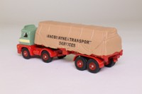 Trackside DG150003; Foden S21 Artic; Twin Axle Flatbed, Macbraynes, Sheeted Load