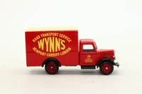 Days Gone Lledo DG059030; Bedford O Series Box Van; Wynn's Road Transport