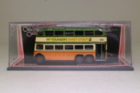 Corgi OOC 43703; Q1 Trolleybus; Glasgow Corporation: Route 102 Hampden Garage