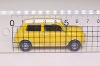 Vanguards VA02509; Morris Mini-Cooper S; Fiesta Yellow & Old English White