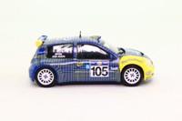 DeAgostini 35; Renault Clio S1600; 2003 Acropolis Rally 16th; Jean-Joseph & Boyere; RN105