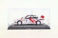 DeAgostini 25; Mitsubishi Lancer; EVO III; 1996 1000 Lakes Rally 1st; Makinen & Harjanne; RN7