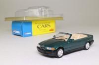 Solido 57; BMW 325i Cabriolet; Open Top, Metallic Green, Tan Interior