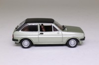 Solido 130; 1978 Ford Fiesta 1.3 Ghia; Pale Metallic Green, Black Roof
