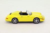 DeAgostini; 1993 Porsche 911 (964) Speedster; Open Top, Yellow