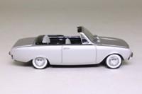 Solido 57; 1960 Ford Taunus 17m Badewanne; Open Convertible, Silver