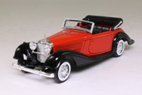 Solido 51; 1939 Mercedes-Benz 540K; Open Top, Red/Black