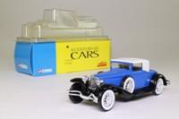 Solido 52; 1929 Cord L-29 Coupe; Soft Top, Blue/Black,