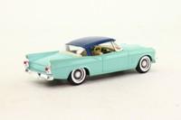 Solido 54; 1957 Studebaker Silver Hawk; Turquoise & Blue