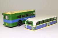 Corgi Classics TY06102; AEC RT Double Deck Bus; James Bond Live and Let Die, San Monique