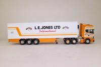 Corgi CC12908; Scania Topline; Fridge Trailer, LE Jones Ltd, International