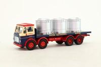 Corgi 24503; Leyland Mouthorgan Cab; 8 Wheel Flatbed, Walter Southworth, Vats Load