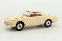 Corgi Toys 239; Volkswagen Type 34 Karmann Ghia; Cream, Red Interior