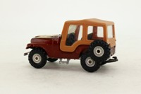 Corgi Toys 441; AMC CJ-5 Jeep; Golden Eagle, Brown Metallic
