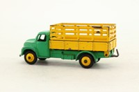 Dinky Toys 343; Dodge Farm Produce Truck; Green Chassis, Yellow Back Body