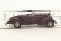 Western Models WML5; 1935 Auburn Boat Tail Speedster; Maroon