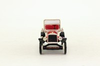 Minialuxe #3; 1911 Ford Model T Lizzie; Red & White