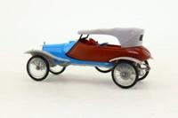 Minialuxe #19; 1914 Panhard Skiff Labourdette; Soft Top, Blue & Grey