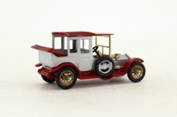 Models of Yesteryear Y-7/3; 1912 Rolls-Royce; Silver, Maroon Chassis & Roof