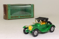 Models of Yesteryear Y-6/3; 1913 Cadillac; Green, Yellow Seats
