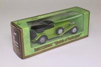 Models of Yesteryear Y-16/2; 1928 Mercedes-Benz SS; Met Lime Green & Black