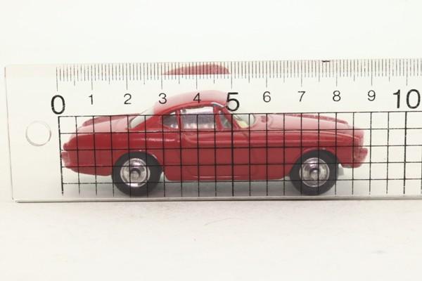 Corgi Toys 228; Volvo P1800; Red
