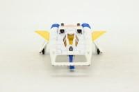 Corgi Toys 647; Buck Rogers Starfighter; White, Yellow Wings
